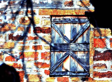 Shuttered Window by Linda Cox