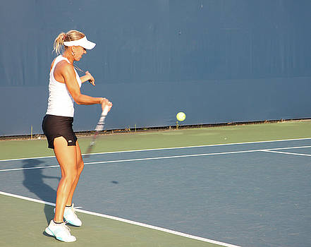 Shvedova On The Rogers Cup by Nick Mares