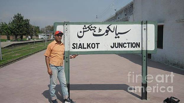 Sialkot junction by Ali Muhammad