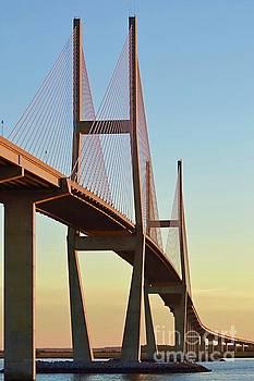 Sidney Lanier Bridge I by Linda Covino