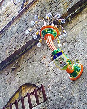 Siena Street Lamp by Norma Brandsberg