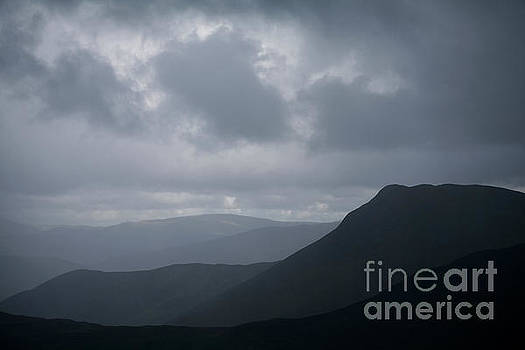 Silhouetted Causey Pike by Gavin Dronfield