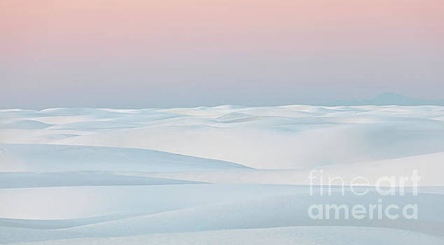 Silky White Sands by Doug Sturgess