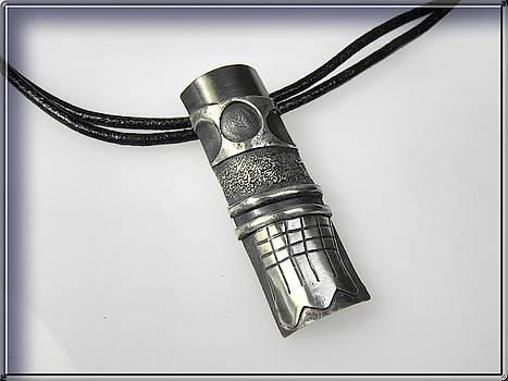 Silver Pendant by Vesna Kolobaric