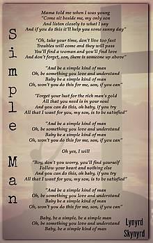 Simple Man by David Norman