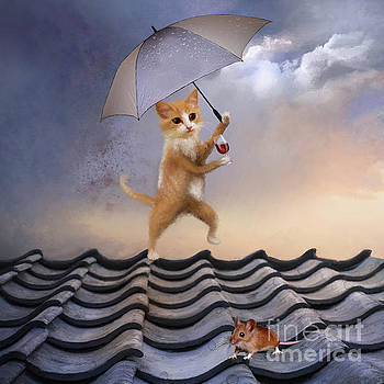 Singing in the Rain by Anne Vis