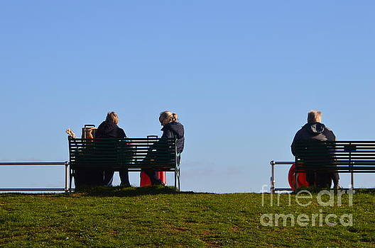 Sitting by the Sea in the Sunshine by Andy Thompson