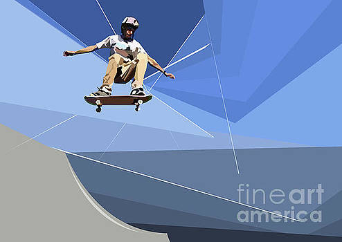 Skateboarder by Wendy Thompson