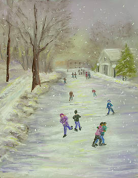 Skaters by Dorothy Riley
