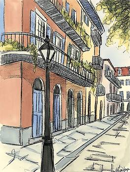 Sketches of Downtown I Wall Art by Ethan Harper