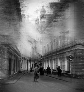Sketches Of Old Riga... by Aleksandrs Drozdovs