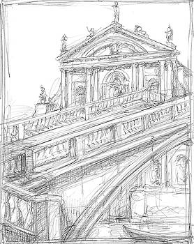Sketches of Venice I Wall Art by Ethan Harper