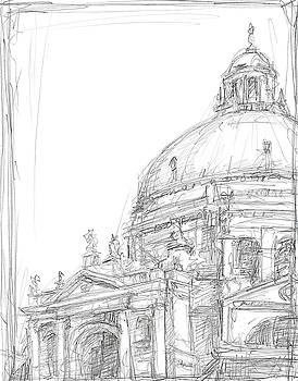 Sketches of Venice II Wall Art by Ethan Harper