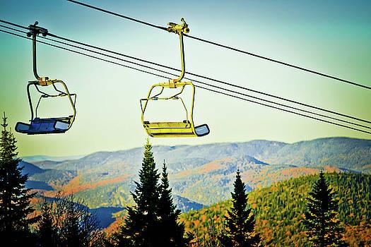 Ski Lifts by Dawn Wayand