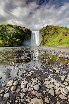 Skogafoss Waterfall South of Iceland by Pierre Leclerc Photography