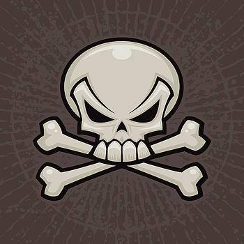 Skull and Crossbones by John Schwegel