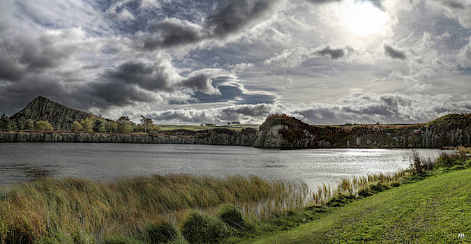 Sky at Cawfields by John Meader