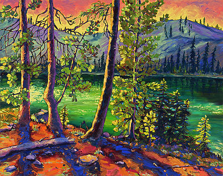 Sky Lakes by Rebecca Baldwin