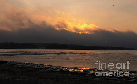 Sky On Fire by Sharon Mayhak