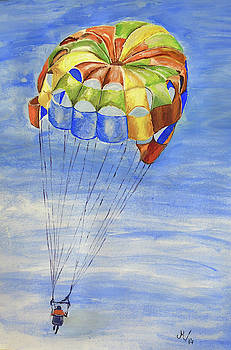 Skydiving by Maria Woithofer
