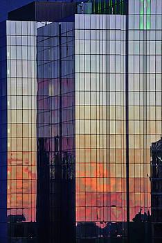 Skyscraper Sunset by Tom Gresham