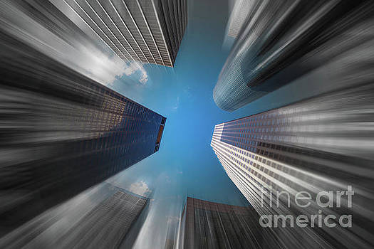 Skyscrapers in Motion by Raul Rodriguez