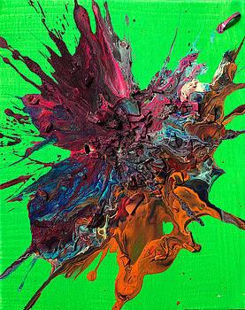 Slam Painting #10 by Chris Crewe