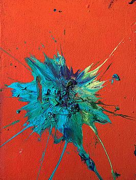 Slam Painting #19 by Chris Crewe