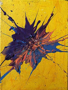 Slam Painting #20 by Chris Crewe