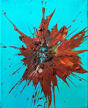 Slam Painting #21 by Chris Crewe