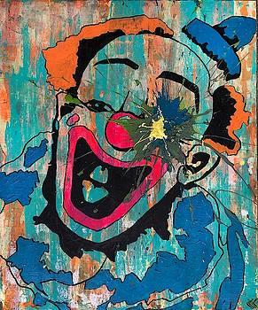 Sledgehammer Face Clown #11 by Chris Crewe