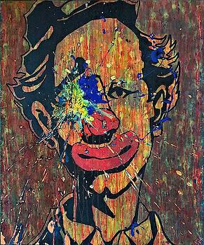 Sledgehammer Face Clown #17 by Chris Crewe