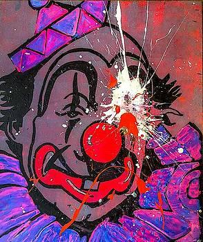 Sledgehammer Face Clown #22 by Chris Crewe