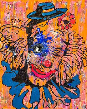 Sledgehammer Face Clown #34 by Chris Crewe
