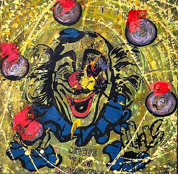 Sledgehammer Face Clown #9 by Chris Crewe
