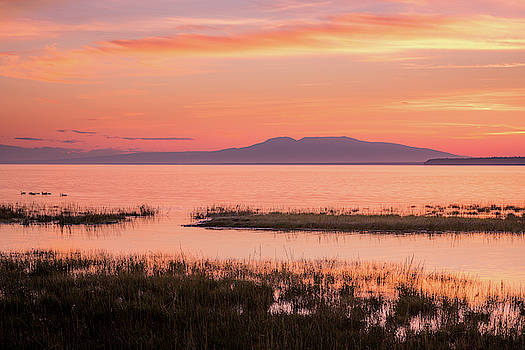 Sleeping Lady Sunset by Tim Newton