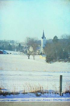 Small Town Cchurch by Jill Battaglia