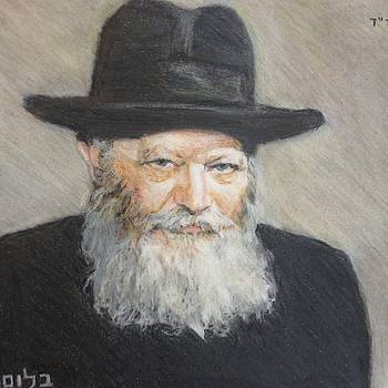 Smiling Rebbe  by Michael Bloom