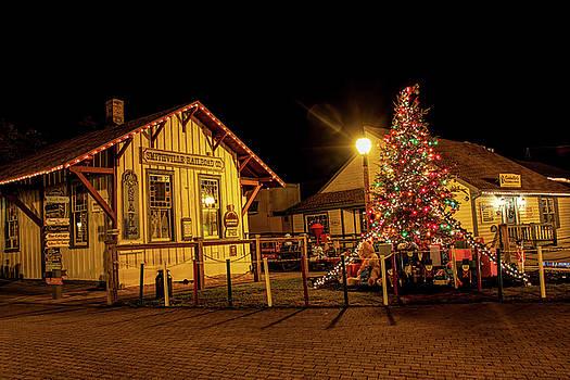 Kristia Adams - Smithville Railroad Christmas Tree