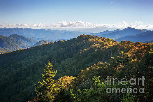 Smoky Mountains by Sharon Seaward