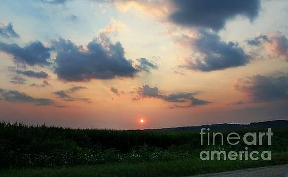 Smoky Sunset by Denise Irving