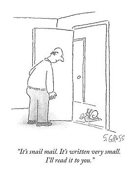 Snail Mail by Sam Gross