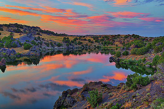 Snake River Twilight Reflections by Greg Norrell