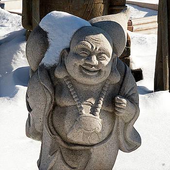 Snow Buddah by Tom Romeo