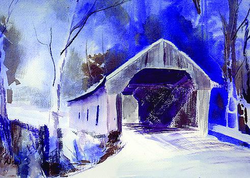 Ann Neal - Snow Covered Bridge