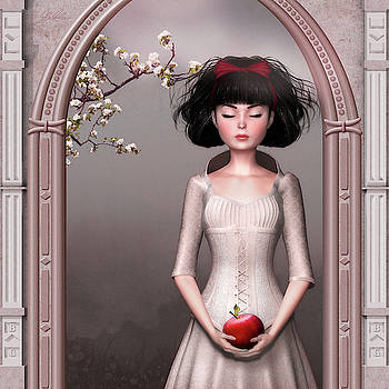 Snow White and the apple by Britta Glodde