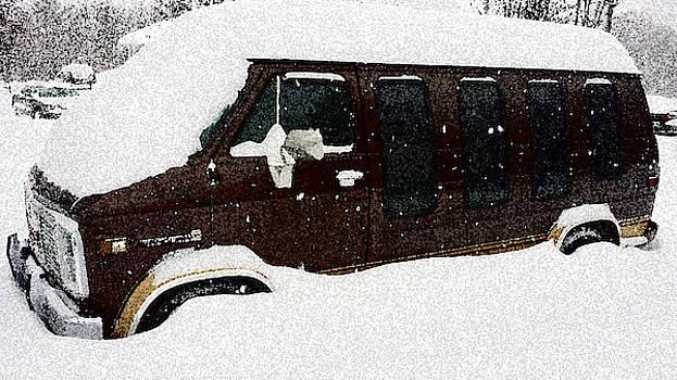 Snowed-in Drive by Susan Janus