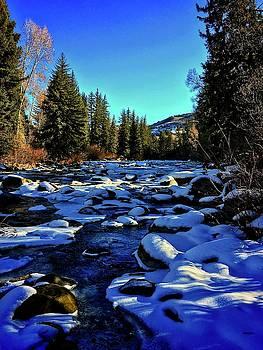 Snowy Eagle River by Dan Miller
