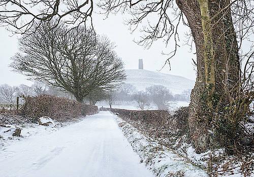 Snowy Lane by Kev Pearson