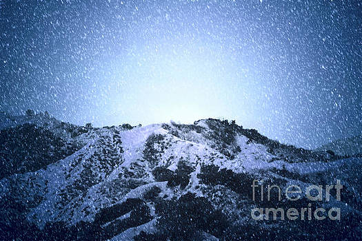 Snowy Mountain by Ellie Asha Photography